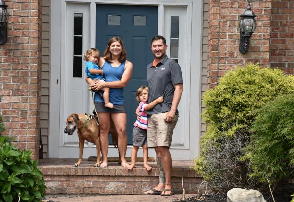 Coach Cristina and Family