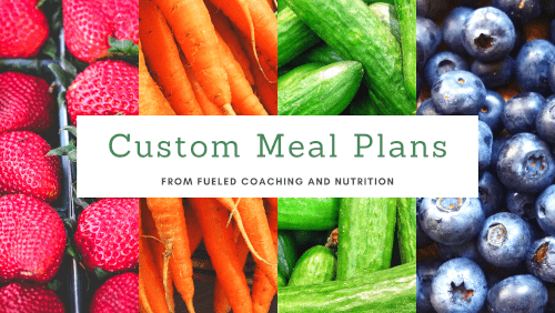 Custom Meal Plans for Athletes